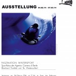 Plakat Faszination Wintersport
