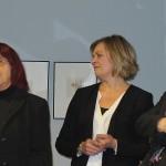 Vernissage mit Kuratorin Dr. Gabriele Stolze, Laudatorin Tatjana Jury und Kurator Raymund Stolze