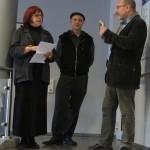 v.l.n.r. Gabriele Stolze, Alexander Janetzko und Raymund Stolze
