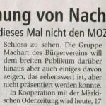 Märkische Oderzeitung 20.10.2015