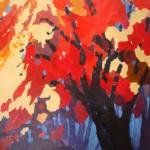 Roter Baum © Achim Felz