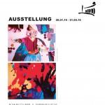 Bühnenzauber & Farbenrausch Plakat