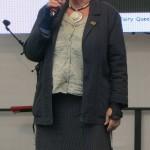 Gabriele Stolze erklärt, dass auch das Publikum noch einen Preis vergeben kann