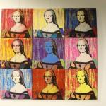 """Neunmal """"Madonna"""" im Siebdruck von Ann Kristin Fleischhauer © Dirk Schaal"""