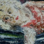 Udo Böttcher - Mädchen auf der Hängematte