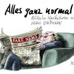 Alles ganz normal! - Politische Karikaturen von Klaus Stuttmann