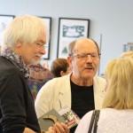 Gespräche nach der Ausstellungseröffnung © Ralf Elbrandt