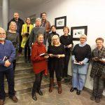 12 von 17 Künstlern der NACHLESE waren anwesend bei der Vernissage © Dirk Schaal