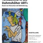 Rathaus Galerie Hoppegarten Ausstellung Plakat Dahmshöhe