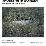 Ausstellungsplakat »HORSE WITH NO MAN«