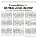 Märkischer Sonntag 17./18.08.2019
