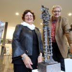 Angelika Bunke und Thomas Lünser bei der Vernissage © Gerd Markert (MOZ)