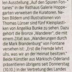 Märkische Oderzeitung 14.10.2019