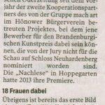Märkische Oderzeitung 08.11.2019