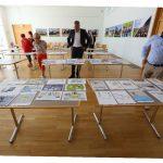 Jury im Gemeindesaal - Märkische Oderzeitung 26.06.2020 © Foto: Dirk Schaal