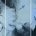 Lebenszyklus Triptychon von Brigitte Gerlach (Paula)