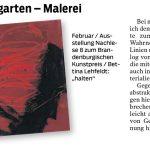 Märkische Oderzeitung 16.02.2021