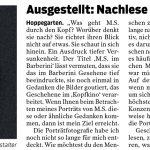 Märkische Oderzeitung 29.01.2021